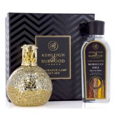 Ashleigh & Burwood Fragrance Lamp Gift Set - Little Treasure & Moroccan Spice